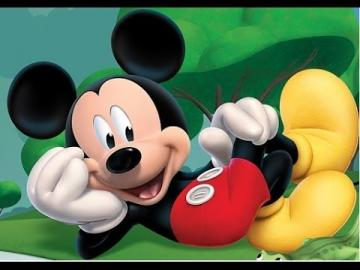 Mickey Mouse - famous fairy tale character