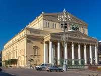 Théâtre Bolchoï à Moscou.