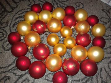 Christmas balls - decorative baubles for the Christmas tree