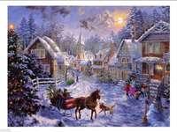 Vánoce ve městě