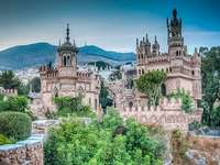 Colomares - Colomares, castle on the hill, Andalusia, a castle-monument in tribute to the discoverer of America