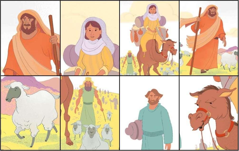 Abraham personaje bíblico - Abraham La figura bíblica del Antiguo Testamento que podemos leer en el libro de Génesis.