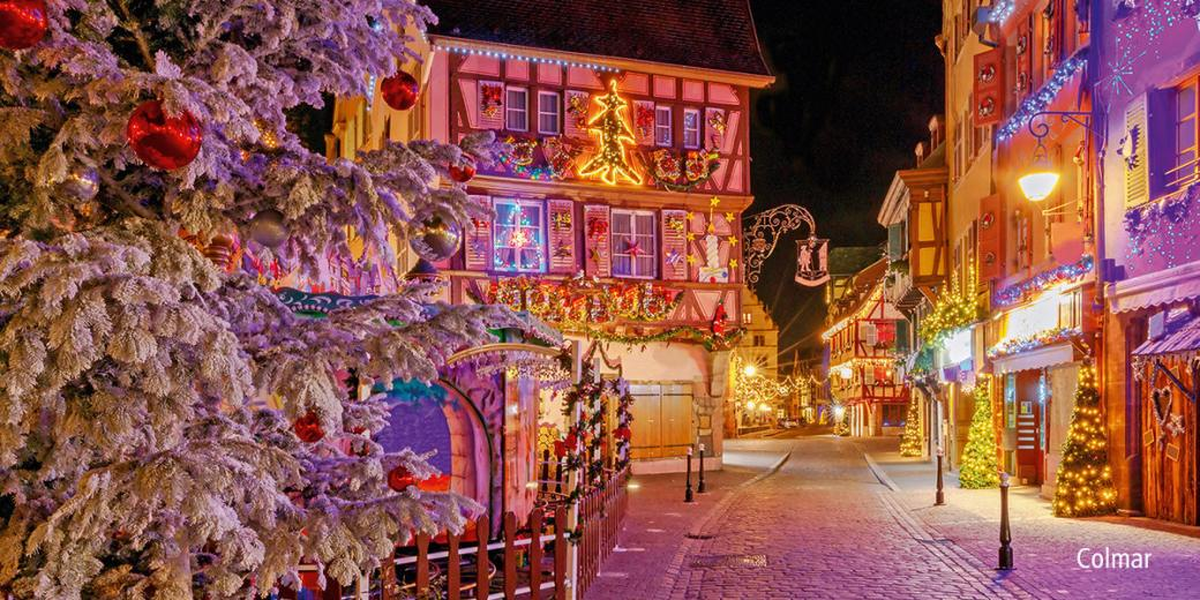 Colmar on holidays - France. Colmar on holidays (12×10)