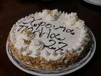 tårta på grekiska