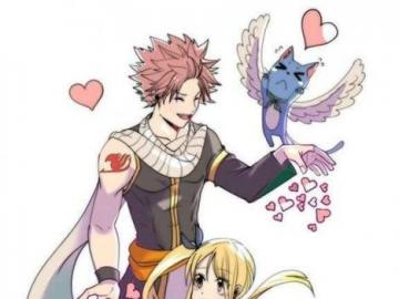 Fairy Tail - Lucy and Natsu Best Love Couple