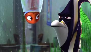 finding Nemo - nemo trapped in the tube that speaks with gill
