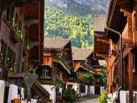 Швейцарско село.