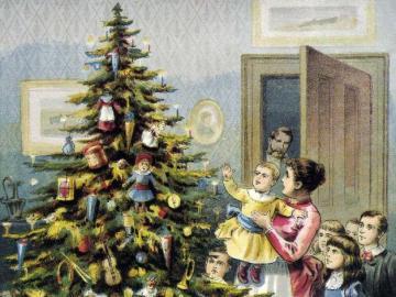 Natale. - Natale su vecchie cartoline.