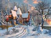 Zimní krajina. - Winter landscape