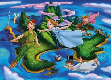peter pan disney - peter pan trilli wendy and her brothers