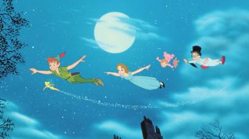 peter pan disney - peter pan trilli wendy and the brothers