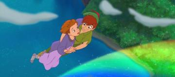 peter pan back to the island c - Peter Pan and Wendy's daughter
