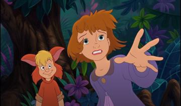 peter pan back to the island c - the daughter of wendy and one of the lost children