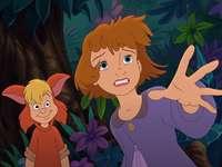 Peter Pan zurück auf die Insel