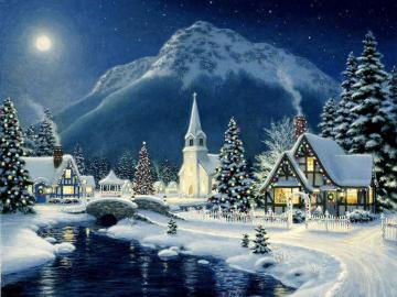 Zima w górach - Krajobrazy. Zima w górach.