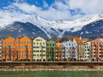 Innsbruck. - Oostenrijkse landschap.