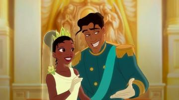 The Princess and the Frog - tiana and naveen together laughing