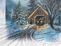 Vánoční obrázek. - Pro děti. Vánoční obrázek.