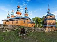 Orthodoxe kerk in Komańcza. - Building. Orthodoxe kerk in Komańcza.