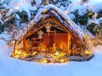 Χριστουγεννιάτικη σκηνή γέννησης - Χριστουγεννιάτικη σκηνή γέννησης.