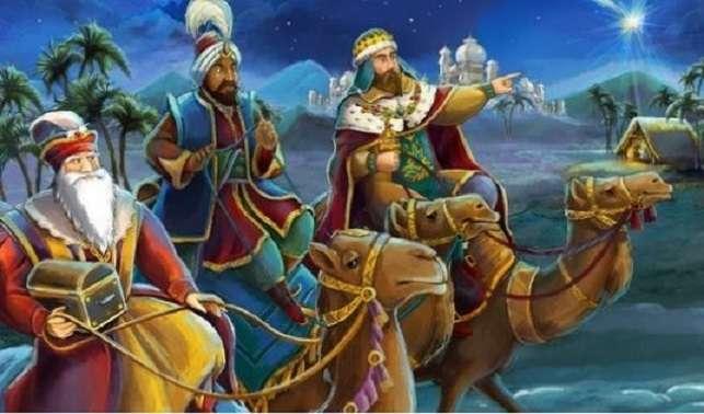 Święto Trzech Króli - Święto Trzech Króli. Sztuka. Orszak Trzech Króli (7×6)