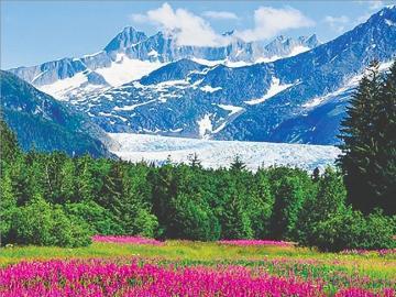 Alaska latem - Krajobrazy. Alaska latem.