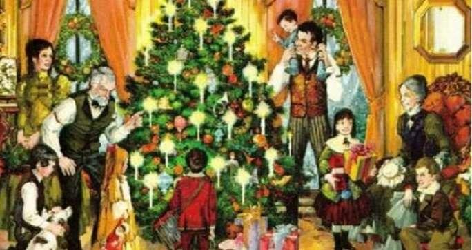 Family holidays - Christmas-family holidays (9×7)