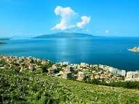 Sur la côte albanaise - Sur la côte albanaise.
