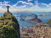 Rio de Janerio. - Panoráma Rio de Janeiro-ra.