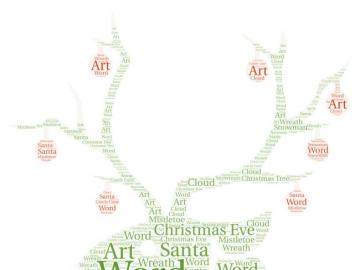 parole di Natale - un approccio divertente all'insegnamento di una scuola elementare di quarta elementare di parol