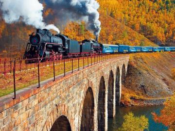 Sibéria 1 - de trem pela Sibéria