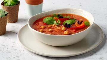 Chickpea Soup - Chickpea soup, something hot