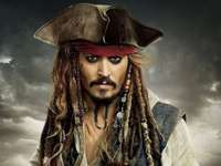 "Jack Sparrow - Baseado no filme ""Piratas do Caribe"""