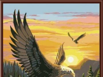 Lot orła 2. - Lot orła w górach. 2