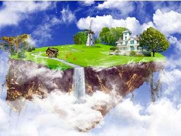 Fantasie. - Landschaften. Es ist nur Fantasie.
