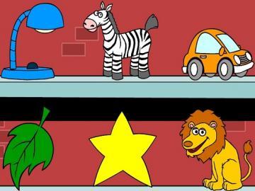 lamp leaf lion car star zebra - lmnopqrstuvwxyzlmnop