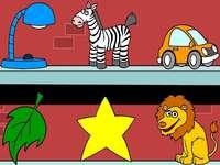 lámpara hoja león coche estrel