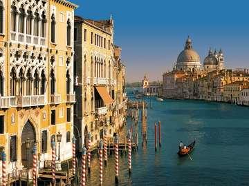 Romantyczna Wenecja - Włochy. Romantyczna Wenecja.