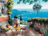 Blick auf die Bucht. - Landschaften. Blick auf die Bucht.