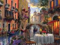 Färgglada Venedig. - Italien. Färgglada Venedig.