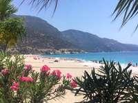 Modrá laguna - Modrá laguna, turecká pláž