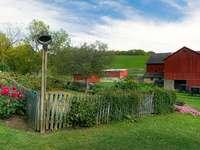 Clădiri și clopot în grădină - Clădiri și clopot în grădină
