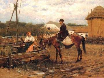 J.Brandt - Conversation au pui - J.Brandt - Conversation au puits