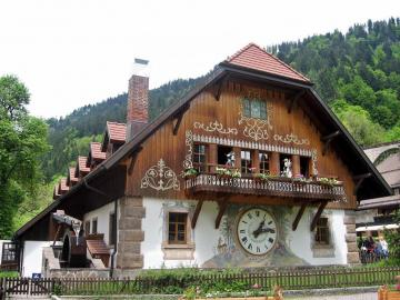 Alpine construction. - Alpine construction.