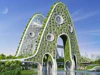 Casas do futuro - Casas verdes do futuro.