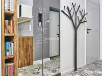 Couloir - un style moderne - Couloir - style moderne, belle maison