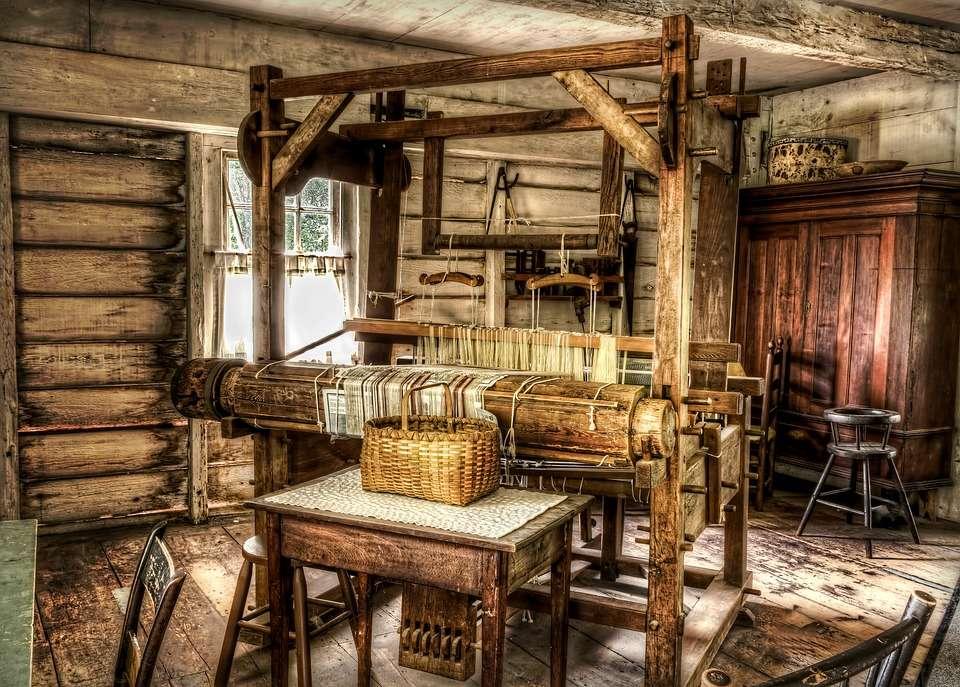 O interior da casa