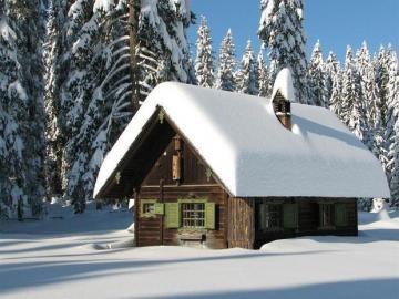 Beautiful white winter - Winter landscape. Beautiful winter.