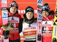 Cubano, Kobayashi e Stoch - 3 vencedores Dawid Ryoyu e Kamil