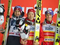 stoch, kobayashi e kraft - Kamil, Junshiro e Stefan 3 vencedores do Wisla 2017
